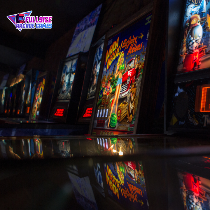 Key Factors in the Purchasing Process of Full Sized Arcade Games